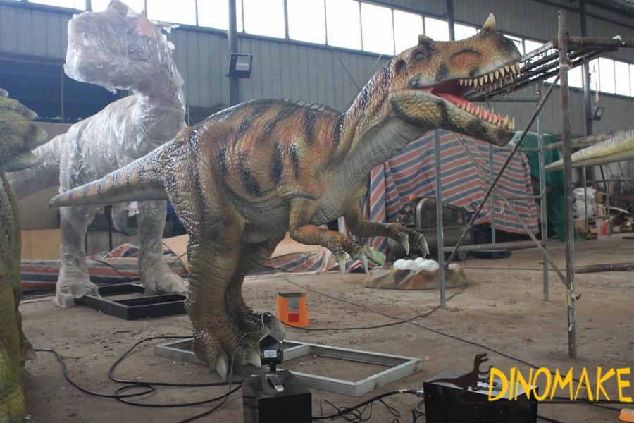 Development steps of the animatronic dinosaur products industry