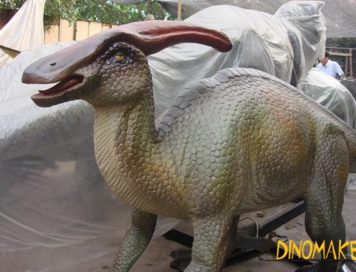 Dinosaur factory a group of Animatronic dinosaur products