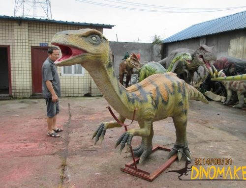 Disappearing Animatronic dinosaur orthodox