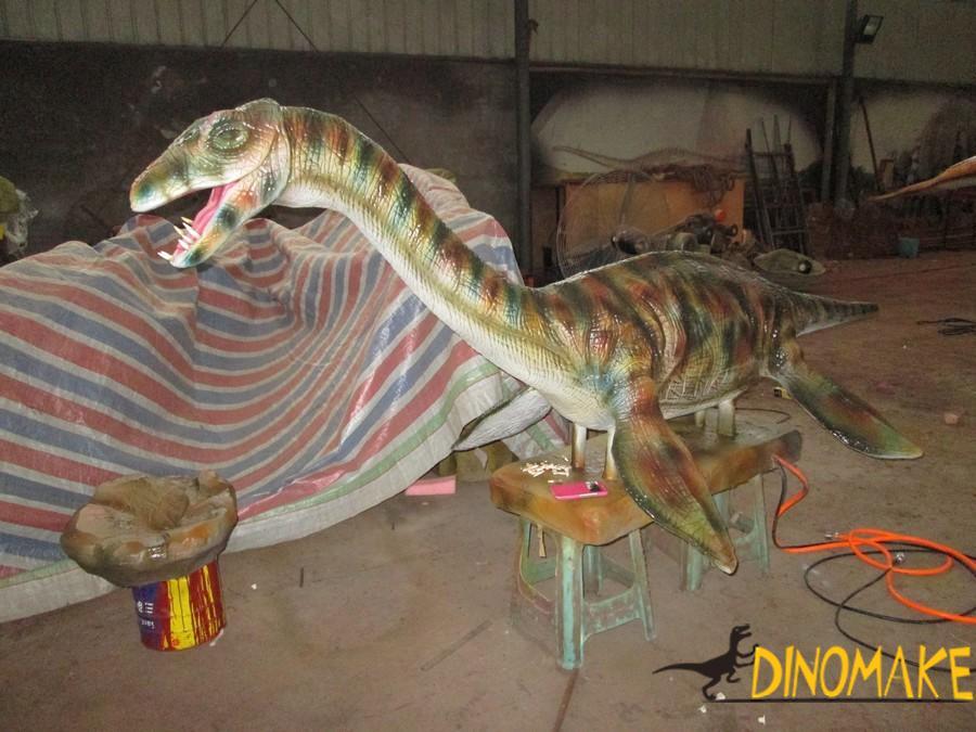 Distribution map of Animatronic dinosaur exhibition