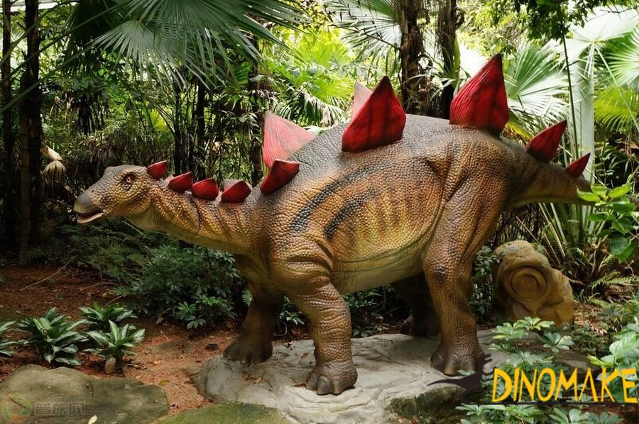 Exhibition of animatronic dinosaur product
