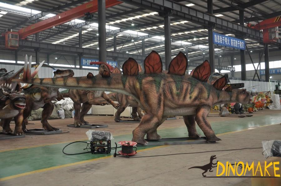 Exhibition of animatronic dinosaur products