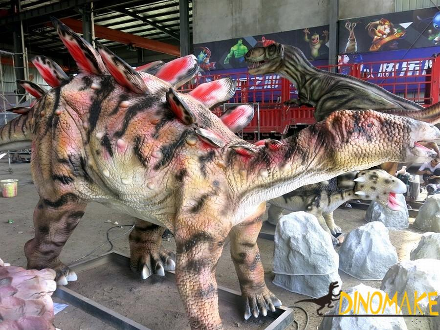 Exhibition of animatronic dinosaur