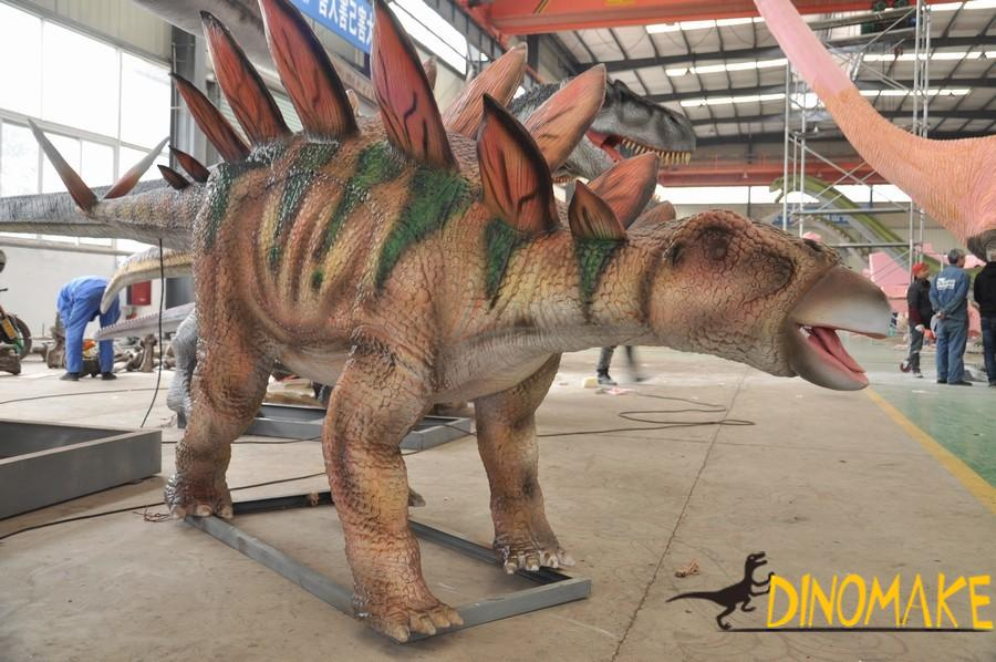 Exhibition of animatronic dinosaurs