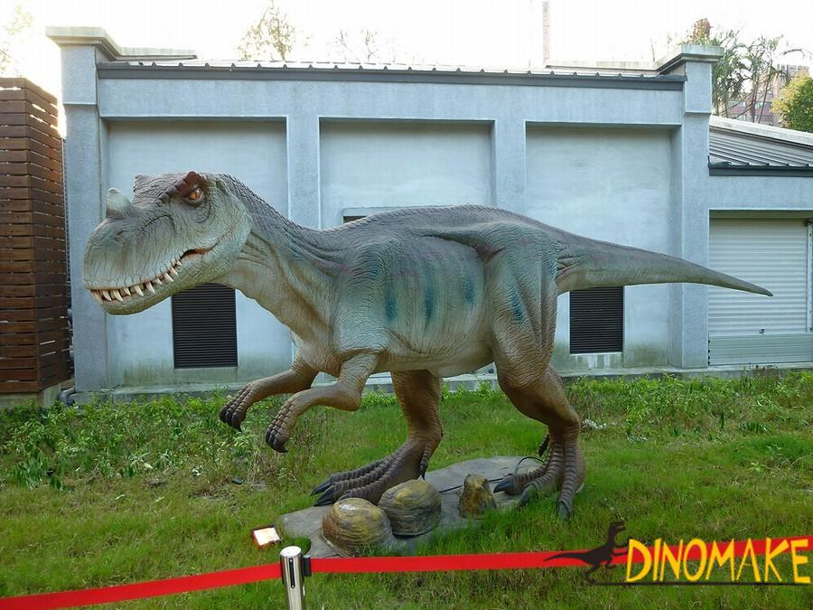 Features of dinosaur model