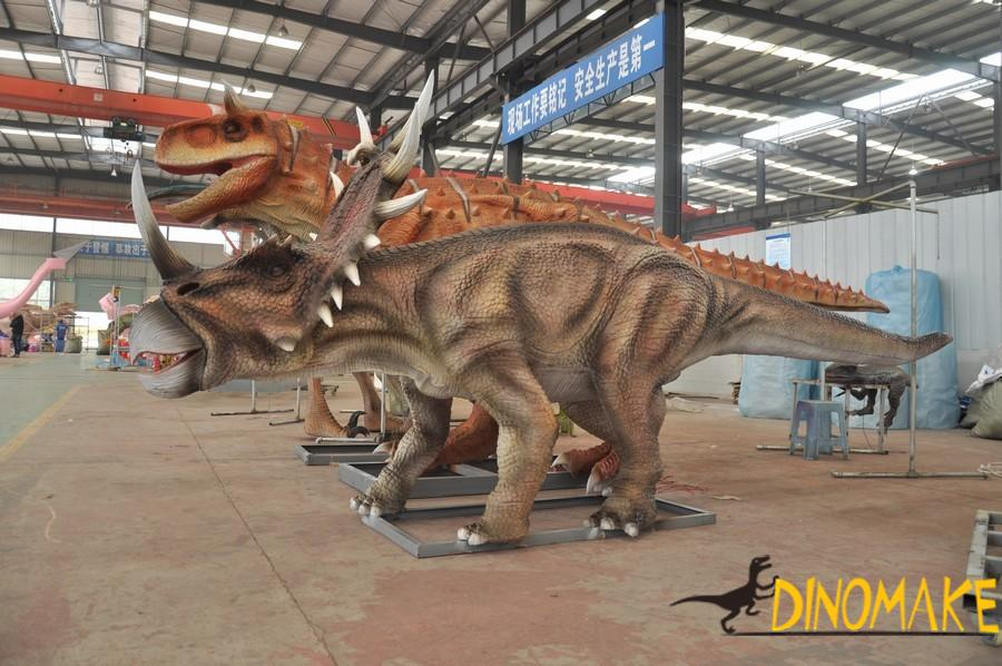 Foreign exhibitions-Animatronic dinosaur