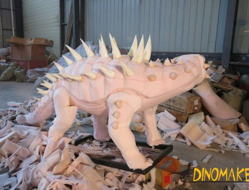 How a animatronic dinosaur started