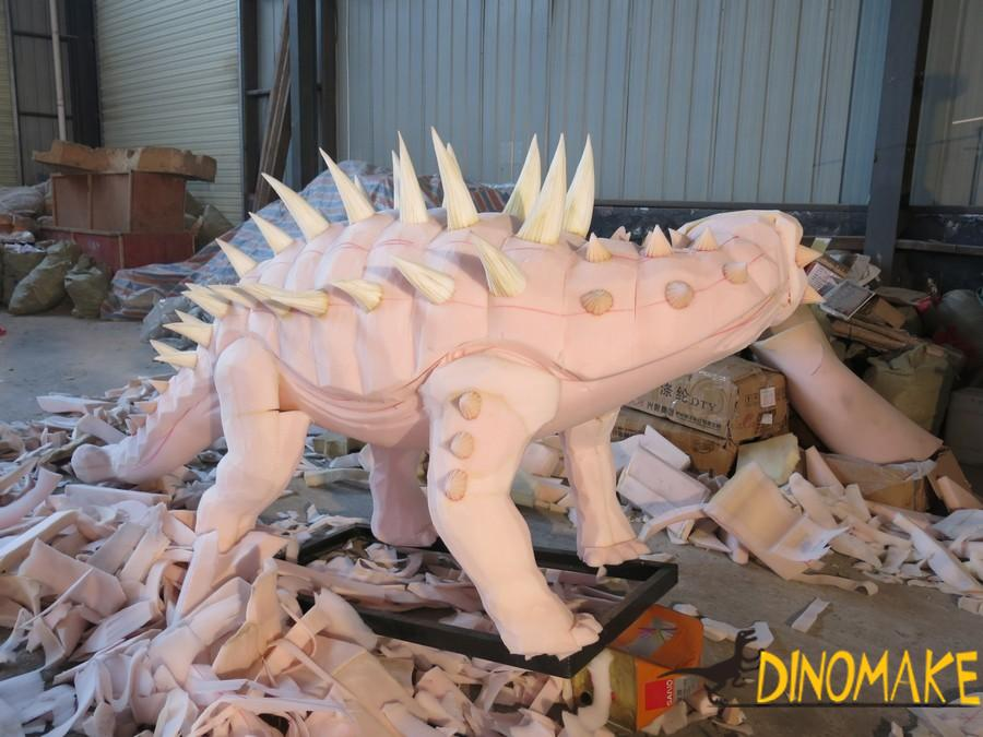 How a animatronic dinosaur product started