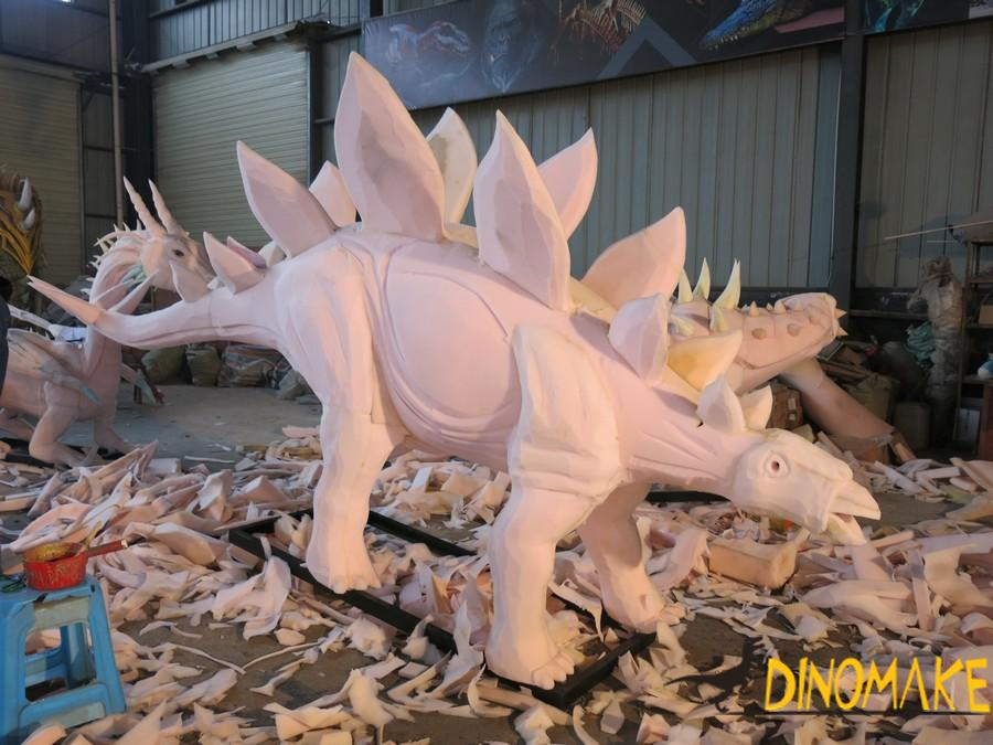 How a animatronic dinosaur products started