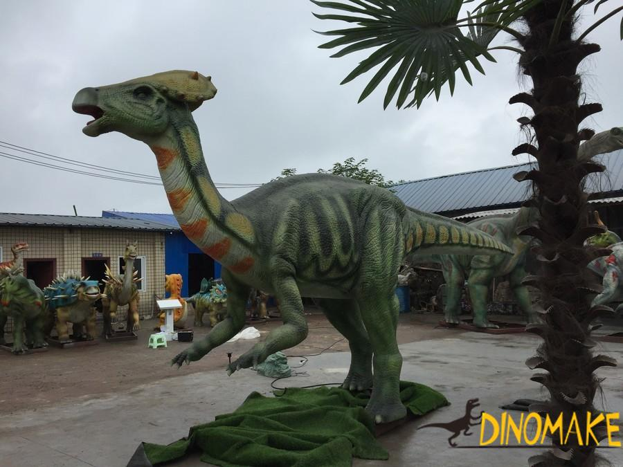 How much is the rental fee for animatronic Dinosaur product
