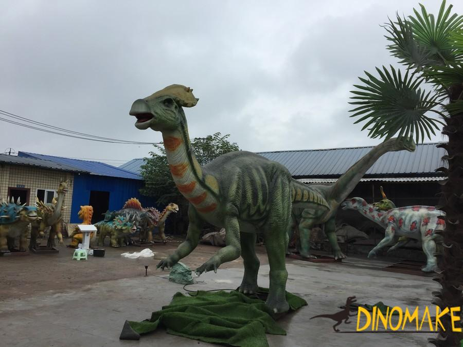 How much is the rental fee for animatronic Dinosaur