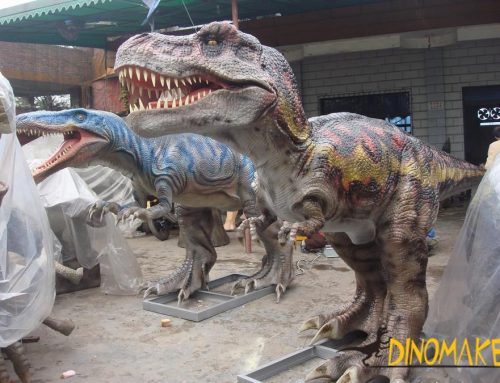 How powerful is the Animatronic of Dinosaur Tyrannosaurus Rex