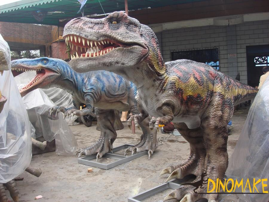 How powerful is the Animatronic Dinosaur T-Rex