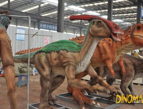 How to calculate the price of Animatronic dinosaur rental