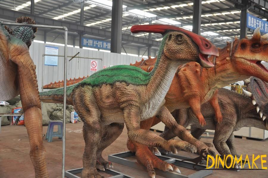 How to calculate the price of Animatronic dinosaur product rental