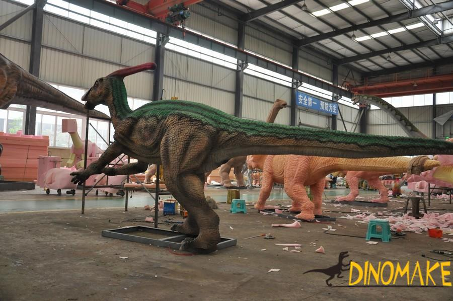 How to calculate the price of Animatronic dinosaur products rental