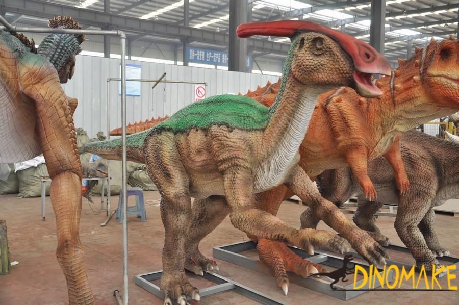 How to calculate the price of Animatronic dinosaurs rental