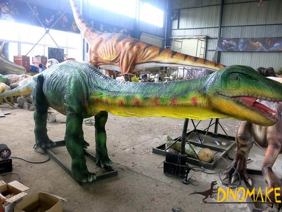 How to customize a animatronic dinosaur product