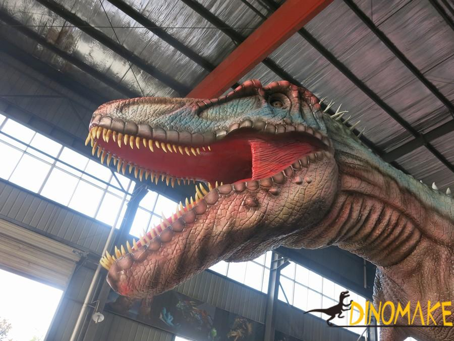 How to set up a Animatronic dinosaur product exhibition