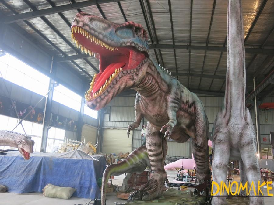 How to set up a Animatronic dinosaurs exhibition