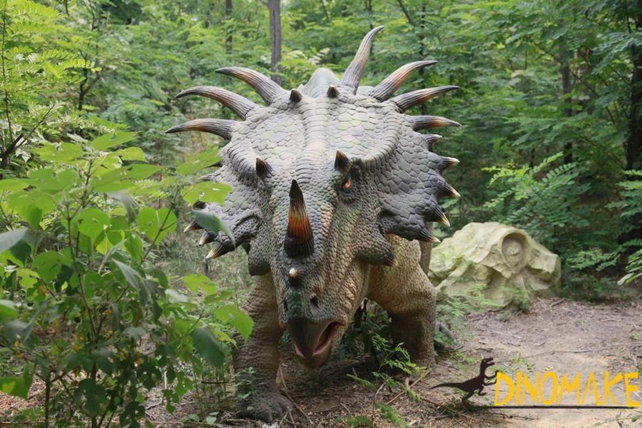 How to use animatronic dinosaur