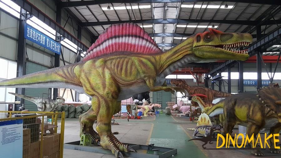 How to work Animatronic dinosaur