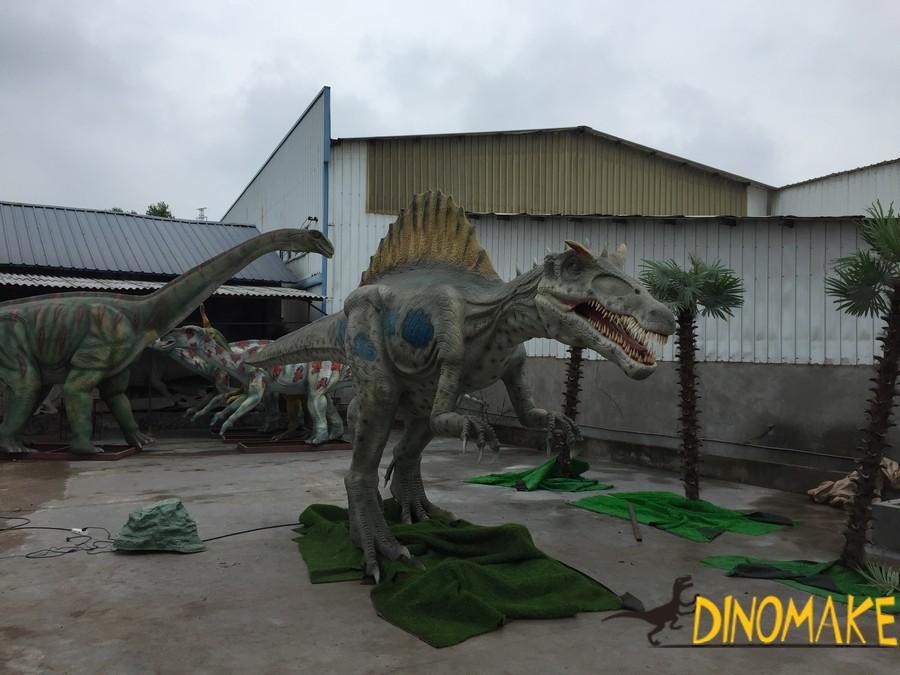 How to work of Animatronic dinosaur