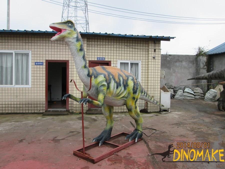 Huge herbivorous dinosaur Diplodocus