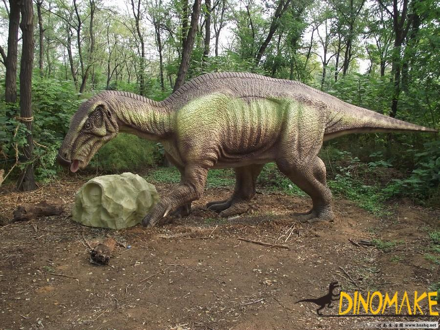Identification of Animatronic dinosaur product quality