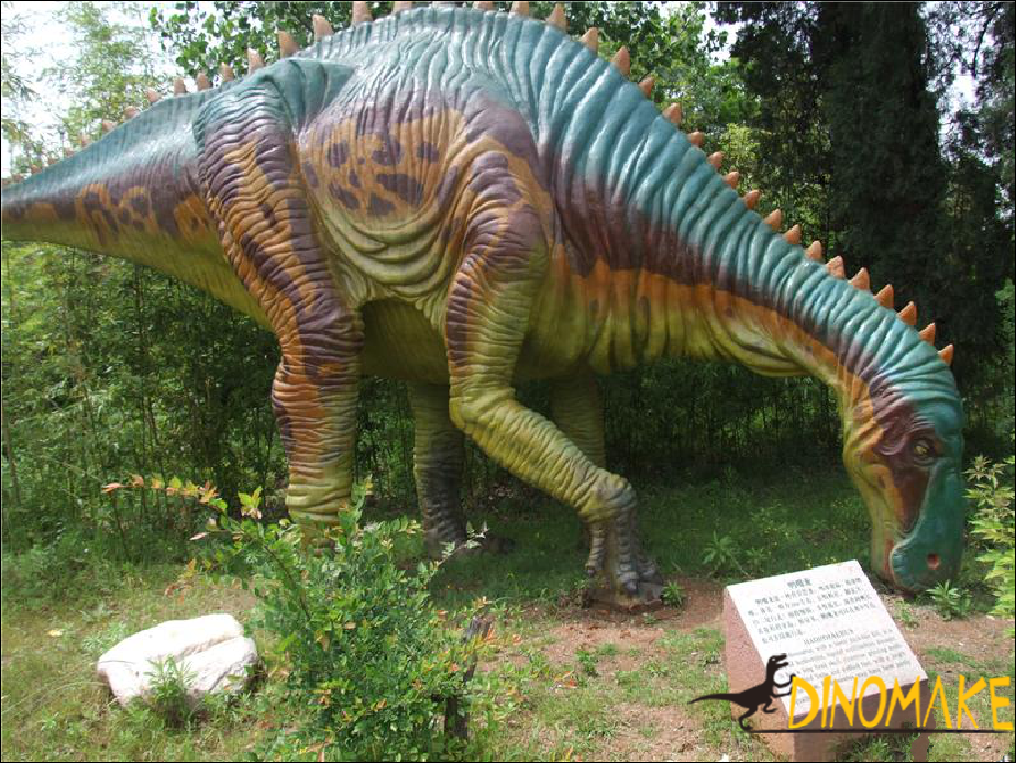 Identification of Animatronic dinosaur quality product