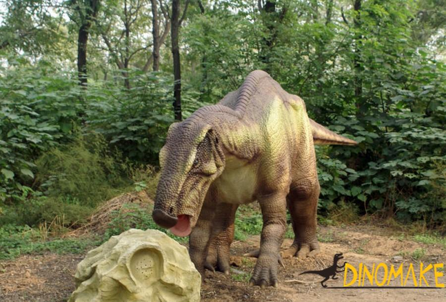 Identification of Animatronic dinosaur quality