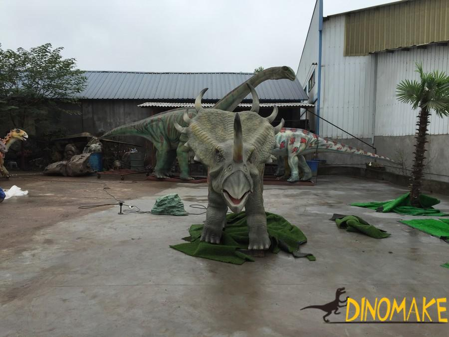 Introduction of dinosaur models