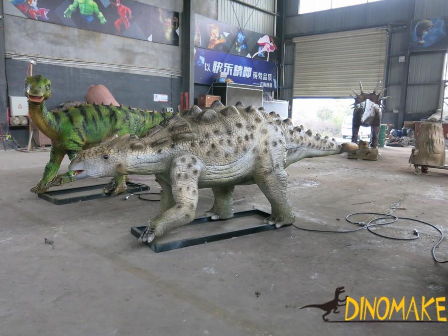 Jurassic park animatronic dinosaur are not extinct