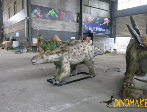 Jurassic park animatronic dinosaurs are not extinct