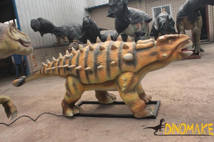 Jurassic park animatronic dinosaurs are not extinct
