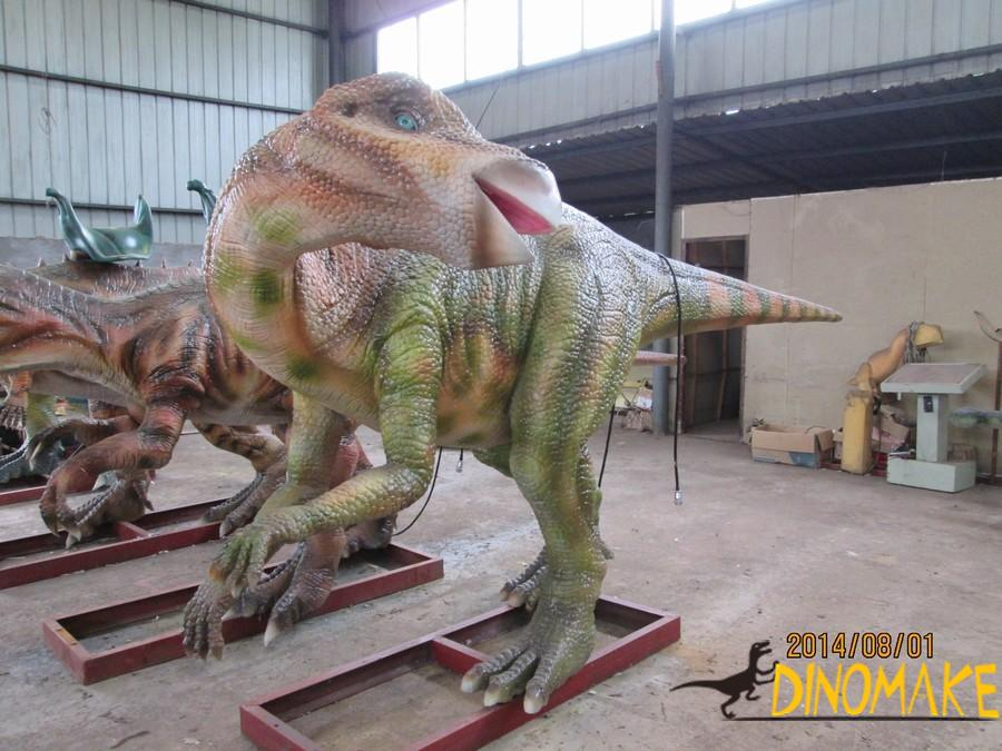 Making of Animatronic dinosaur seat