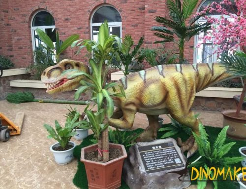 Market research and analysis of animatronic dinosaurs in China