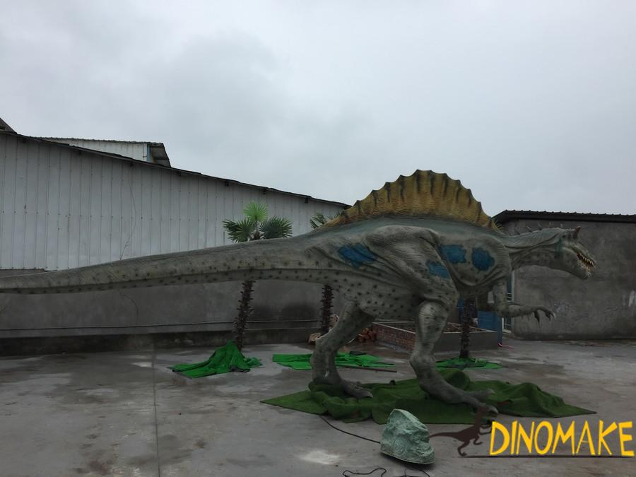 New model photos and dimensions of Animatronic dinosaur exhibition