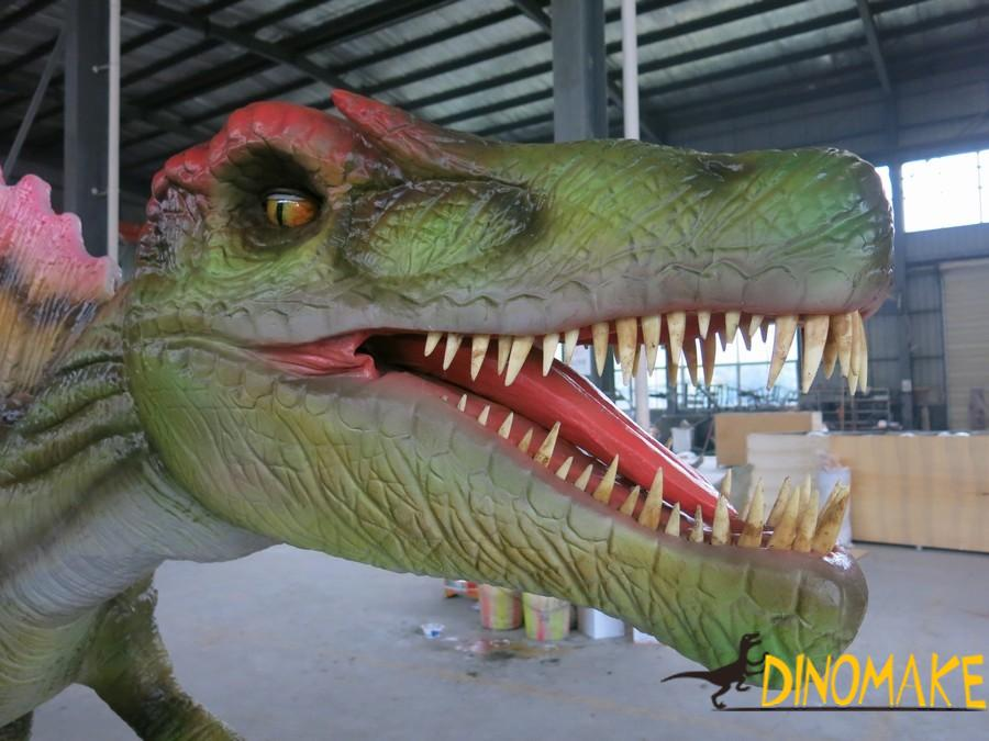 New model photos and dimensions of Animatronic dinosaur product exhibition