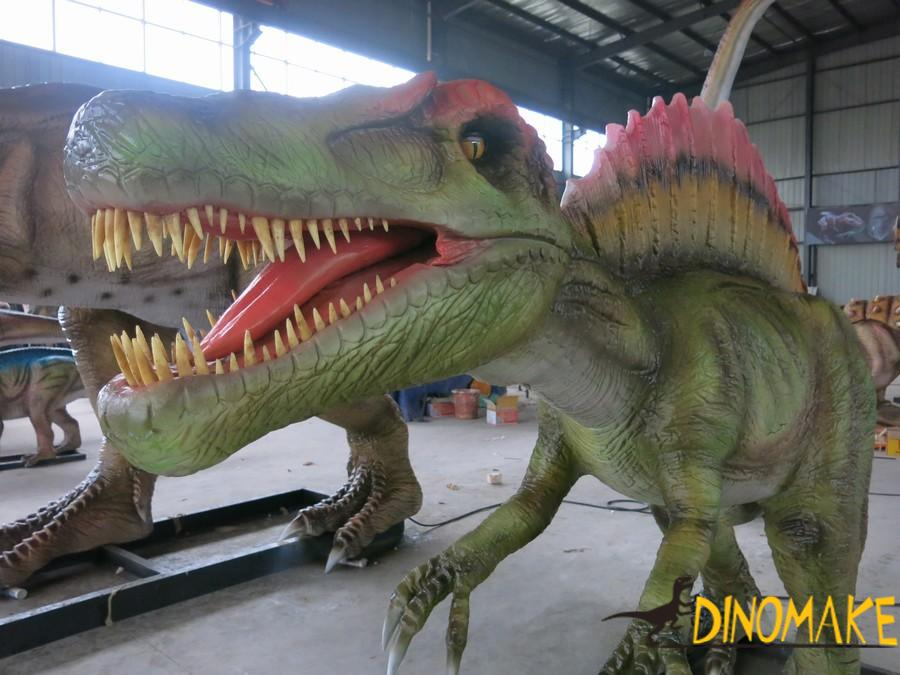 New model photos and dimensions of Animatronic dinosaurs exhibition
