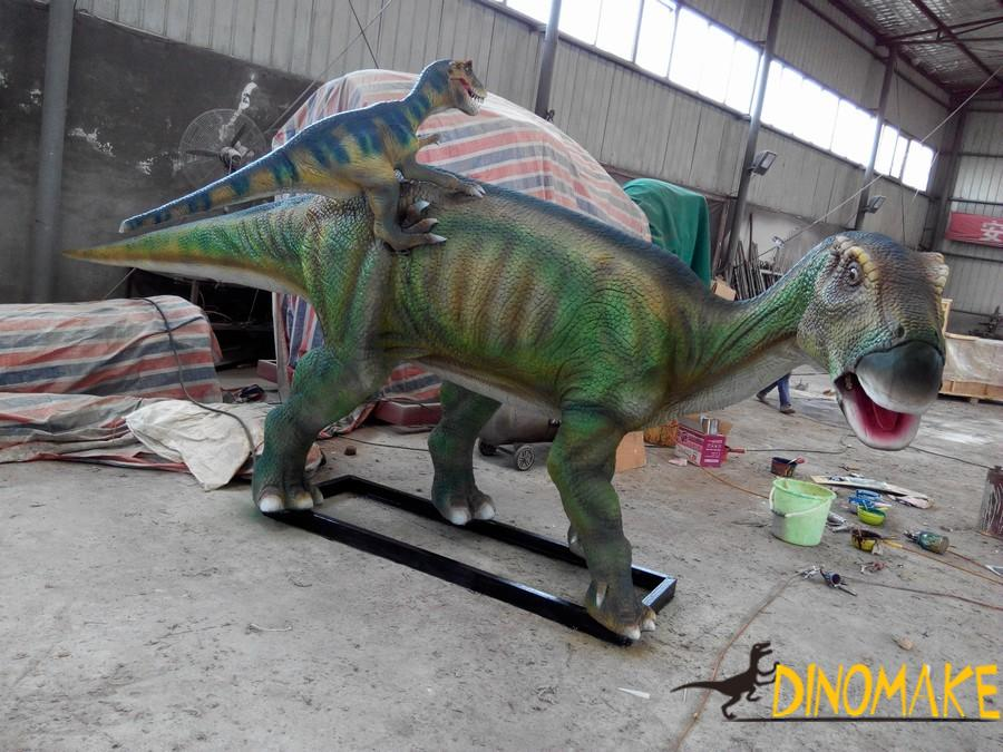 Notes for the Animatronic dinosaur exhibitions