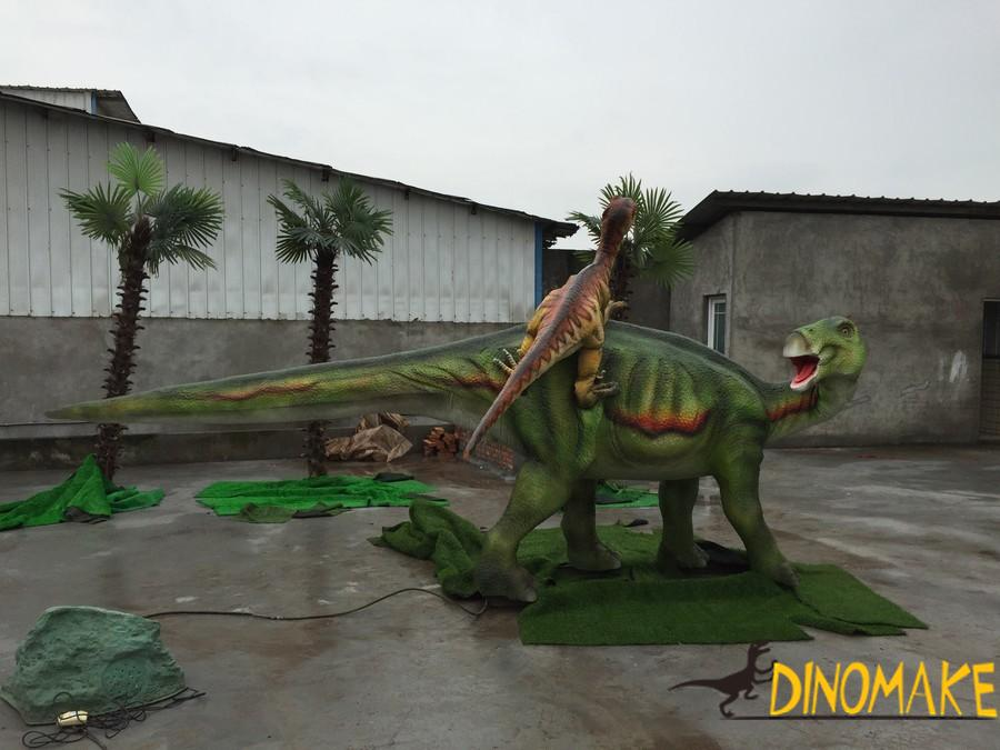 Notes for the Animatronic dinosaurs exhibition