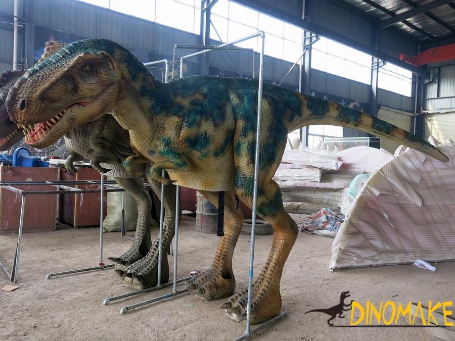 People wear Animatronic dinosaur costume manufacturer