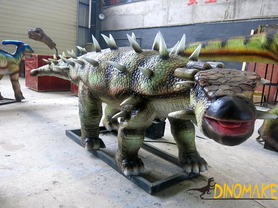 Popular animatronic dinosaur science exhibition