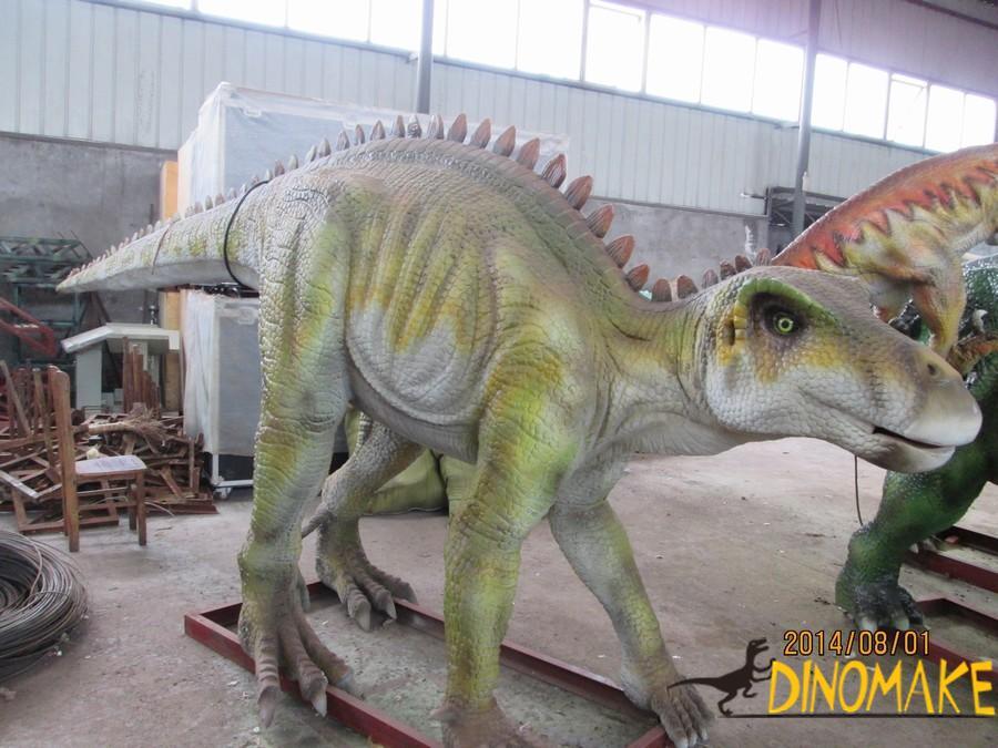 Production process of mechanical animatronic dinosaur