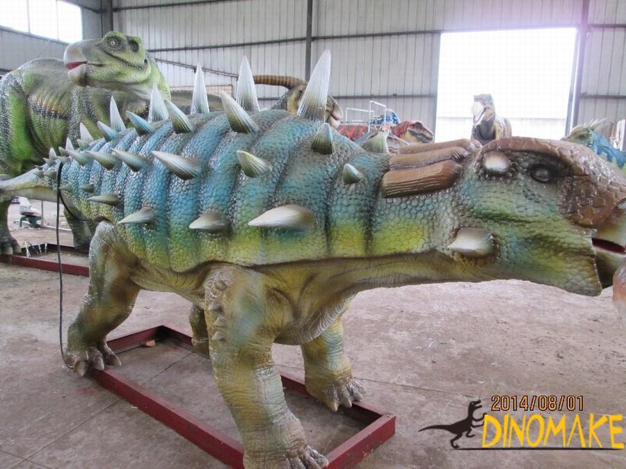 Real Animatronic dinosaur model rental process
