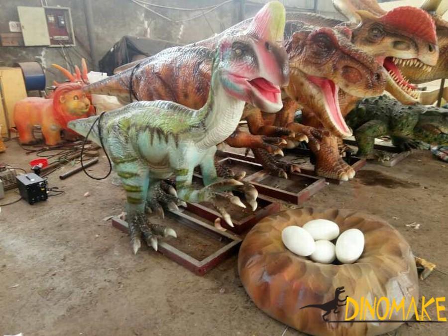 Stegosaurus for the Animatronic dinosaur exhibition