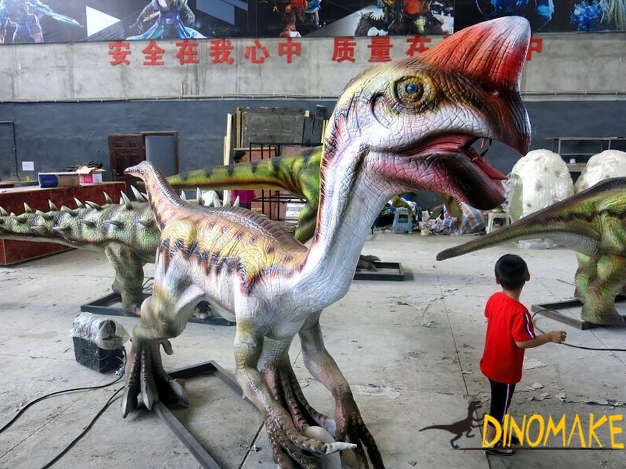 Stegosaurus for the Animatronic dinosaur exhibitions