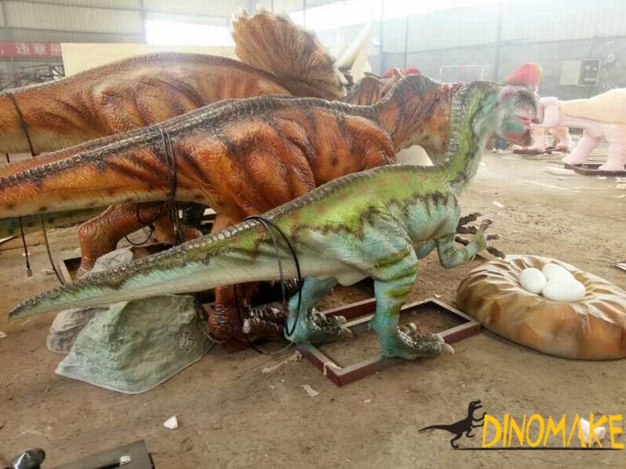 Stegosaurus for the Animatronic dinosaur product exhibition