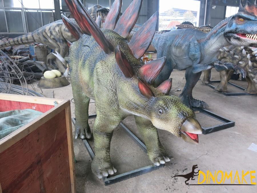Taboos in a animatronic dinosaur exhibition